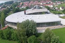 Fitz Firmengebäude / Fertigungshalle von oben