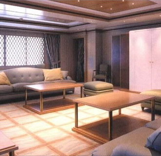 Luxusyacht Constellation Wohnbereich
