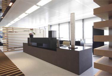 Empfang Bürogebäude