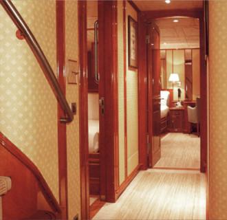 Luxusyacht Fortuna Flur
