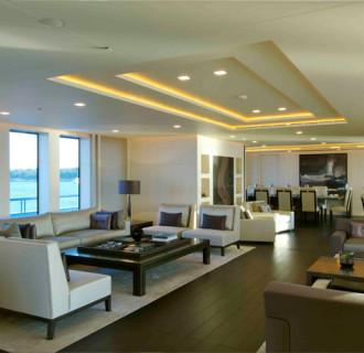 Siren Luxusyacht, exklusiver Wohnbereich