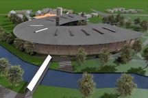 3D Animation Fitz Firmengebäude von oben