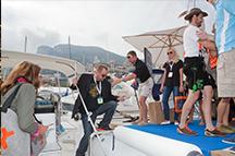 Monaco Yachtshow Impressionen