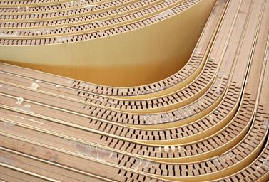 Runde Bögen aus Holz