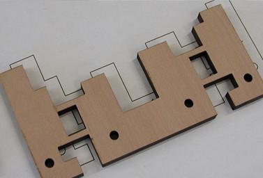 Produktion Detailaufnahmen Holz