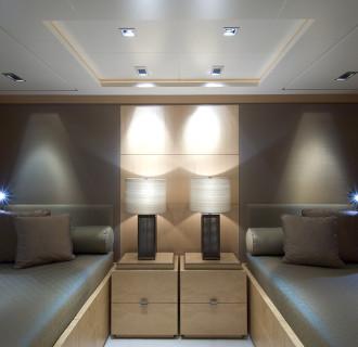 Yacht Gästezimmer Triple Seven