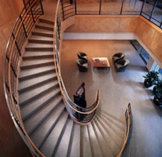 Citibank New York Treppe von oben