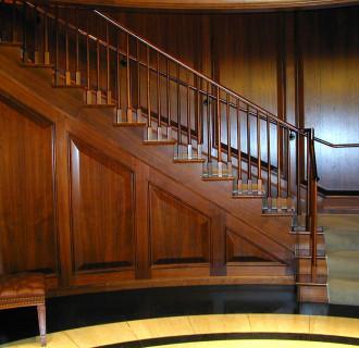 Investor New York Treppe aus Holz