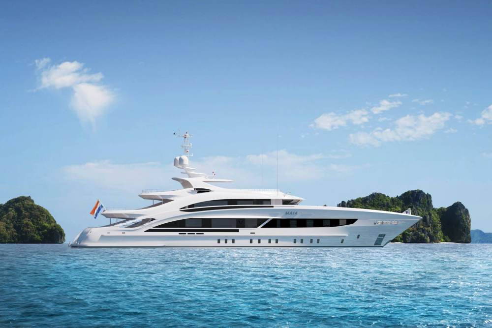 Heesen Yachts reveals latest 50m superyacht, Maia | Fitz