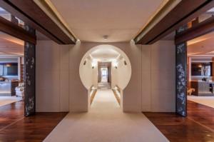 Luxusyacht Luna Wohnbereich