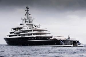 Luxusyacht Luna