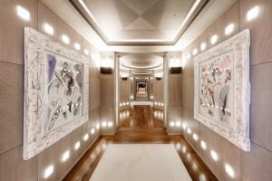 Luxusyacht Luna Innenbereich