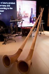 Monaco Yachtshow 2013 Musikinstrumente